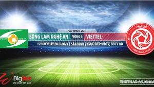 Soi kèo nhà cái SLNA vs Viettel. BĐTV trực tiếp bóng đá Vòng 6 LS V-League 2021