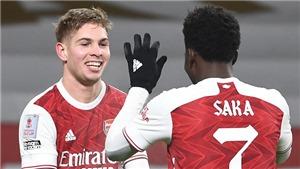 Arsenal: Saka và Smith Rowe giờ rất quan trọng với Arteta