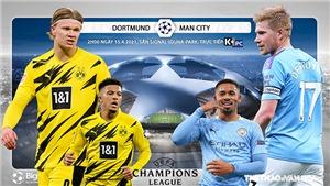 Soi kèo nhà cáiDortmund vs Man City. K+, K+PC trực tiếp tứ kết cúp C1