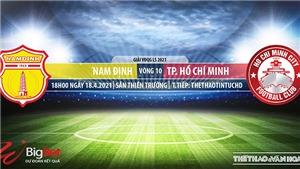 Soi kèo nhà cái Nam Định vs TP Hồ Chí Minh.Vòng 10 V-League 2021
