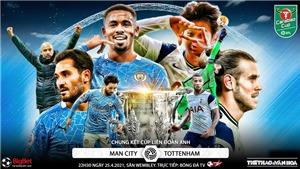 Soi kèo nhà cái Man City vs Tottenham. BĐTV trực tiếp chung kết Cúp Liên đoàn Anh