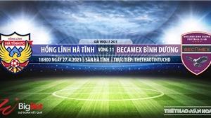 Soi kèo nhà cái Hà Tĩnh vs Bình Dương. TTTT HD trực tiếp vòng 11 V-League