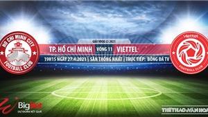 Soi kèo nhà cái TPHCM vs Viettel.BĐTV trực tiếp vòng 11 V-League