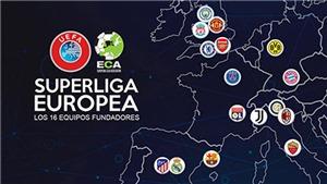 Bóng đá hôm nay 19/4: MU đạt cột mốc buồn. UEFA cấm cửa các đội muốn đá Super League