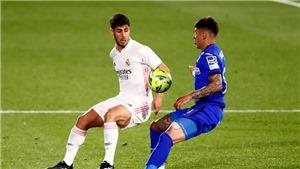 Getafe 0-0 Real Madrid: Khủng hoảng lực lượng, Real chấp nhận chia điểm