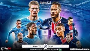 Soi kèo nhà cáiMan City vs PSG. K+, K+PM trực tiếp Bán kết lượt về Cúp C1