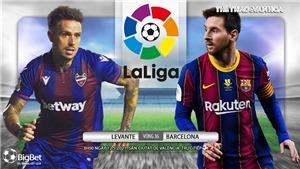 Soi kèo nhà cáiLevante vs Barcelona. BĐTV trực tiếp bóng đá Tây Ban Nha La Liga