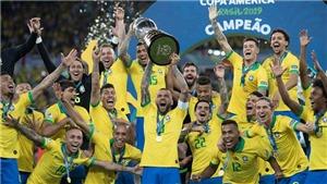 Brazil thay Argentina làm chủ nhà Copa America 2021