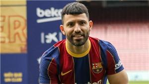 Đến Barca, Aguero nói câu khiến dân mạng bật cười