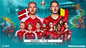 Kèo nhà cáiĐan Mạch vs Bỉ. Tỷ lệ kèo bóng đá EURO 2021. Trực tiếp VTV6, VTV3