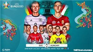 Kèo nhà cái. Soi kèo Đức vs Hungary. VTV6 VTV3 trực tiếp bóng đá EURO 2021