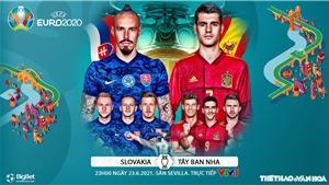 Kèo nhà cái. Soi kèo Tây Ban Nha vs Slovakia. VTV6 VTV3 trực tiếp bóng đá EURO 2021