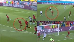 Ronaldo gây sốt với pha chạy nước rút như VĐV điền kinh để sút tung lưới Đức