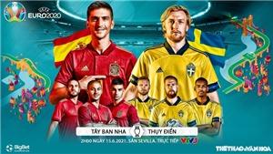 Kèo nhà cáiTây Ban Nha vs Thụy Điển. Tỷ lệ kèo bóng đá EURO 2021. Trực tiếp VTV3