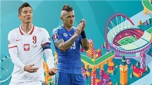 TRỰC TIẾP bóng đá Ba Lan vs Slovakia. VTV6, VTV3 trực tiếp EURO 2021 hôm nay