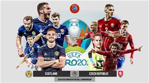 Kèo nhà cáiScotland vs Czech. Tỷ lệ kèo bóng đá EURO 2021. Trực tiếp VTV6