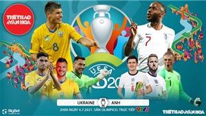 Kèo nhà cái. Soi kèo Anh vs Ukraina. VTV3 VTV6 trực tiếp bóng đá EURO 2021