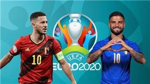 VIDEO Bỉ vs Ý, EURO 2021: Bàn thắng và highlights