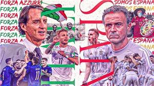 So sánh lực lượng Ý vs Tây Ban Nha: Đội nào được đánh giá nhỉnh hơn?