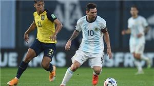Argentina 3–0 Ecuador: Messi 'làm hết', Argentina tiến vào bán kết