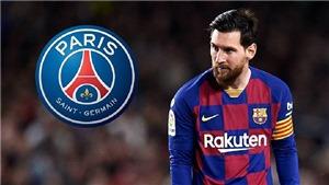 Barcelona lo lắng khi PSG đánh tiếng chiêu mộ Messi