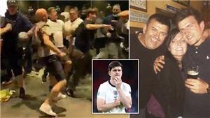 Kinh hoàng khoảnh khắc cha Maguire gãy xương sườn vì chen lấn ở Wembley