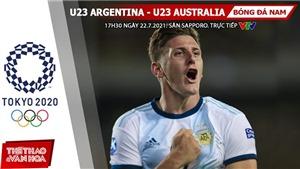 Kèo nhà cái. Soi kèo U23 Argentina vs Úc. VTV6 VTV5 trực tiếp bóng đá Olympic 2021