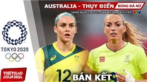 Soi kèo nhà cái Úc vs Thụy Điển, bóng đá nữ Olympic 2021 vòng bán kết (18h ngày 2/8)