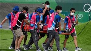 Tay đua Mỹ gặp tai nạn kinh hoàng ở Olympic Tokyo 2021