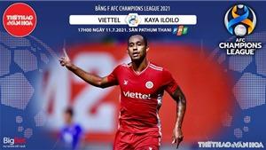 Kèo nhà cái. Soi kèo Viettel vs Kaya. VTC3 trực tiếp bóng đá Cúp C1 châu Á