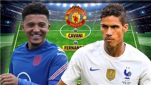MU sẽ đá với đội hình nào khi có Sancho và Varane?