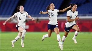 VTV5 TRỰC TIẾP bóng đá nữ Olympic 2021 hôm nay: Mỹ vs Canada, Thụy Điển vs Úc
