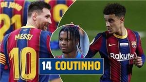 Dàn sao Barca từ chối mặc áo số 10 của Messi