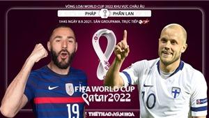 Soi kèo nhà cái Pháp vs Phần Lan và nhận định bóng đá vòng loại World Cup 2022 (1h45, 8/9)