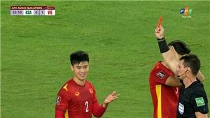 AFC lý giải về thẻ vàng đầu tiên của Duy Mạnh