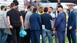Messi nói gì khi thấy đồng đội ở tuyển Argentina bị bắt đi?