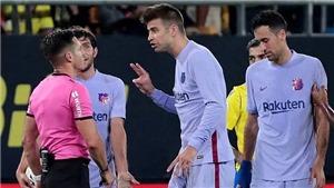 Pique nói gì sau khi Barcelona rơi vào cơn khủng hoảng?