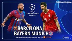Soi kèo nhà cái Barcelona vs Bayern Munich và nhận định bóng đá cúp C1(2h00, 15/9)