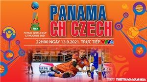 Soi kèo nhà cái Futsal Panama vs Séc và nhận định bóng đá Futsal World Cup 2021 (22h00, 13/9)