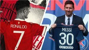 Mới trở lại MU, Ronaldo đã vượt xa Messi về bán áo đấu