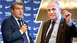 Laporta: 'Tebas có một nỗi ám ảnh bệnh hoạn với Barca'