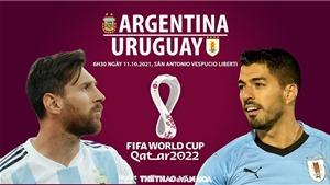Soi kèo nhà cái Argentina vs Uruguay. Nhận định, dự đoán bóng đá World Cup 2022 (6h30, 11/10)