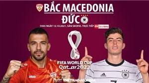 Soi kèo nhà cái Bắc Macedonia vs Đức. Nhận định, dự đoán bóng đá World Cup 2022 (1h45, 12/10)