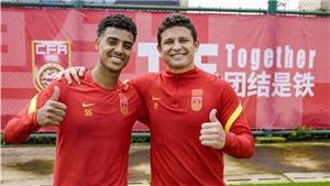 Dàn cầu thủ nhập tịch của Trung Quốc có thể đối đầu Việt Nam