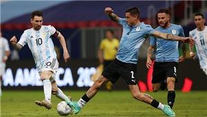 KẾT QUẢ bóng đá Argentina 3-0 Uruguay, Vòng loại World Cup 2022