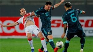 Đội tuyển Argentina: Messi có thành tích kém cỏi thế nào trước Peru?