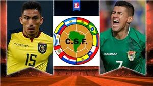 Soi kèo nhà cái Ecuador vs Bolivia. Nhận định, dự đoán vòng loại World Cup 2022 (7h30, 8/10)