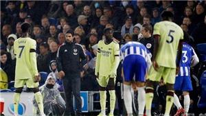 Brighton 0-0 Arsenal: 'Pháo thủ' đứt mạch chiến thắng