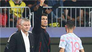 MU: Ronaldo cũng là ứng cử viên thay thế Solskjaer