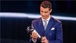 Ronaldo vượt Messi và Neymar để lần thứ hai liên tiếp giành The Best